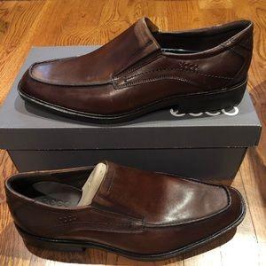 Ecco men's Windsor brown sz 10/10.5 medium new
